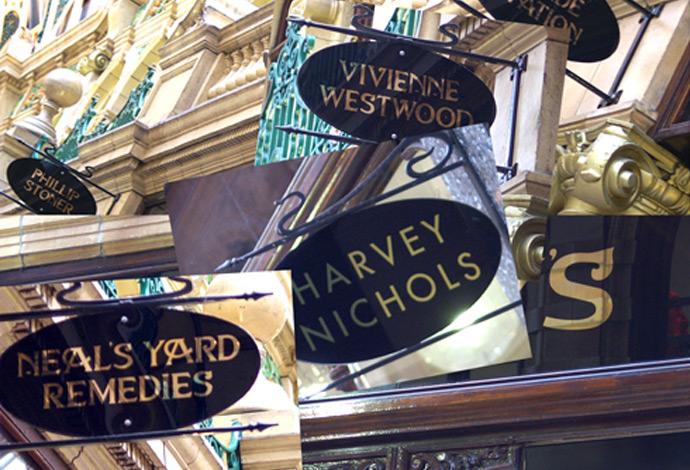 Leeds' Designer Shops